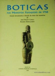 Boticas nas Memória Paroquiais de 1758