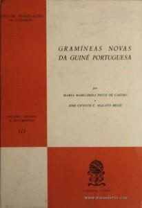 Gramíneas Novas da Guiné Portuguesa