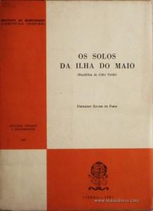 Os Solos da Ilha do Maio