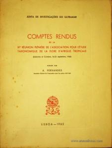 Comptes Rendus De La IVª Réunion Plénière De L'Associociation Pour L'Étude Taxonomique De La Flore D'Afrique Tropicale