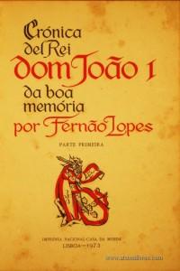 Crónica Del rei Dom João I