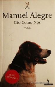 Manuel Alegre - Cão Como Nós «€5.00»