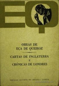 Eça de Queiroz - Cartas de Inglaterra e Crónicas de Londres «€5.00»