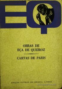 Eça de Queiroz - Cartas de Paris «€5.00»