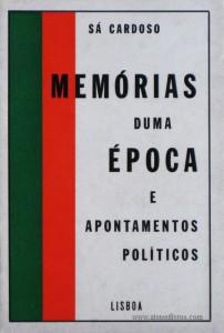Memórias Duma Época e Apontamentos Políticos