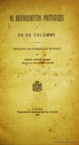 Os Descobrimentos Portuguese e os de Colombo