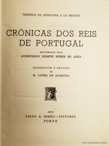 Crónicas dos Reis de Portugal