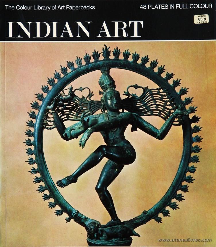 Marguerite-Marie Deneck - Indian Art – Hamlyn – 1971. Desc. 48 pág / 27 cm x 23,5 cm / Br. Ilust «€10.00»