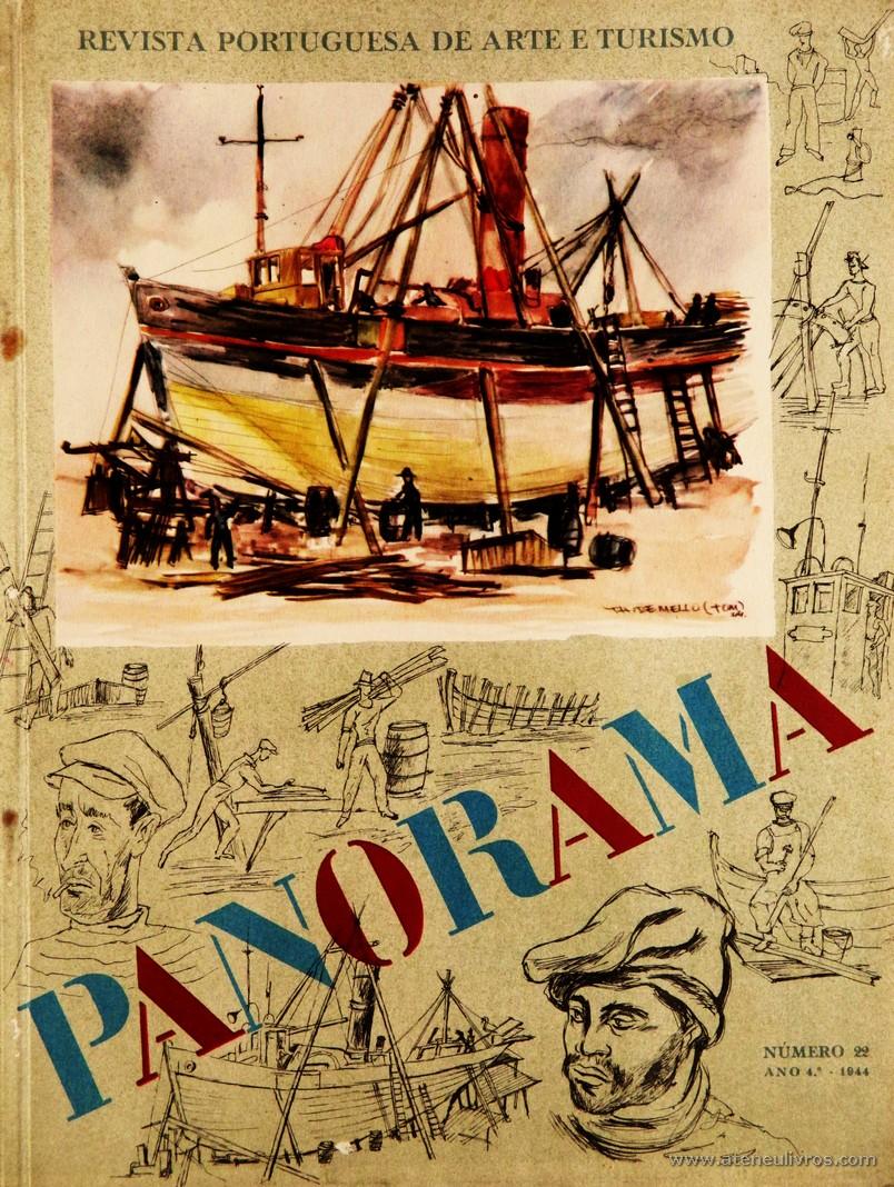 Panorama - Revista Portuguesa de Arte e Turismo - n.º 22 - Ano 4.º - 1944 «€15.00»