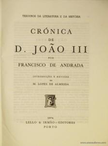 Crónica de D. João III