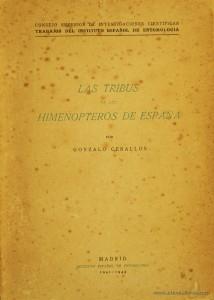 Las Tribus de los Himenopteros de Espanã