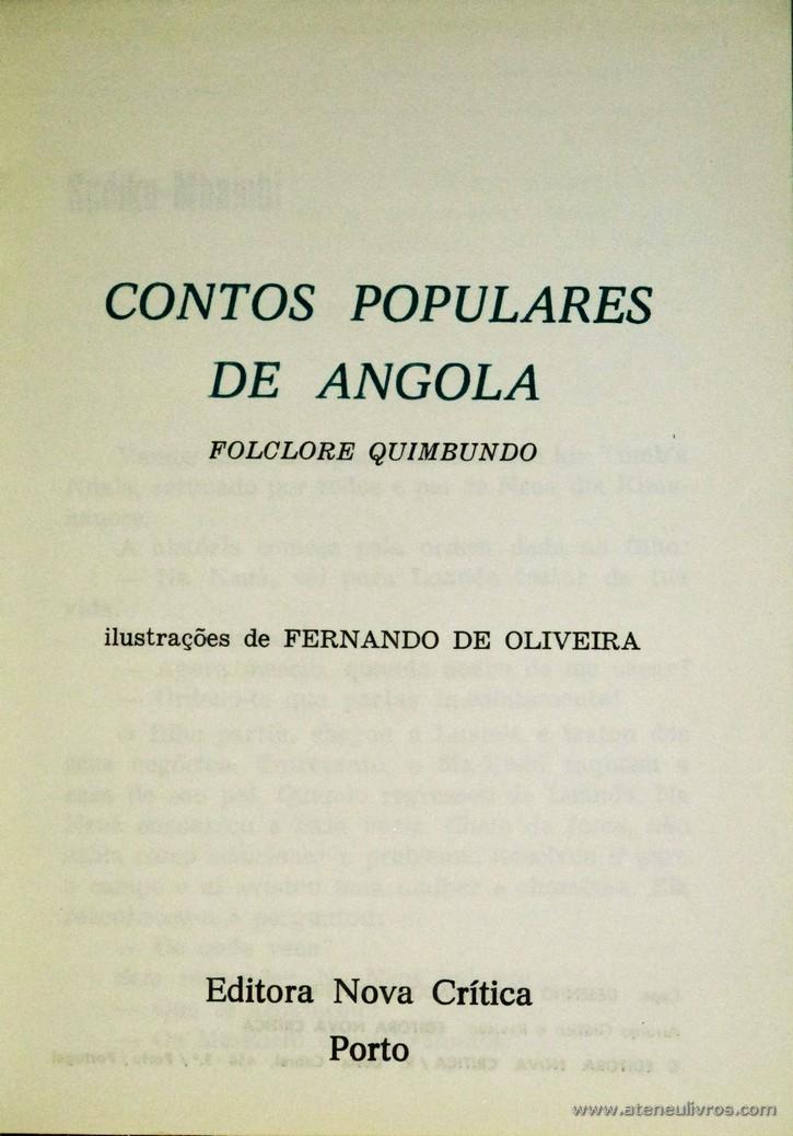 Contos Populares de Angola