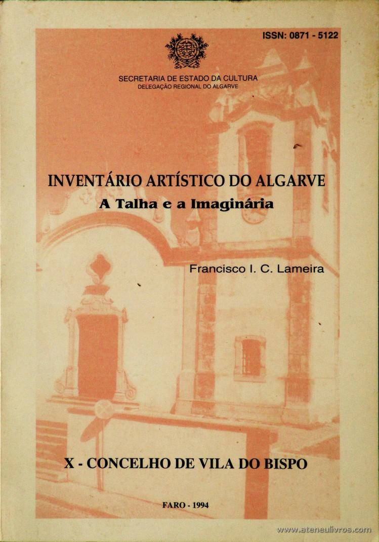 Inventário Artístico do Algarve - A Talha e a Imaginária - X - Concelho de Vila do Bispo