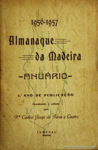 Almanaque da Madeira - Anuário - 1956-1957