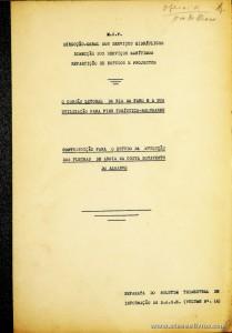 O Cordão Litoral da Ria de Faro e a sua Utilização Para Fins Turísticos-Balneares / Contribuição Para o Estudo da Evolução das Flechas de Areia na Costa Sotavento do Algarve