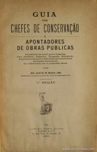 Guia dos Chefes de Conservação e Apontadores de Obras Publica
