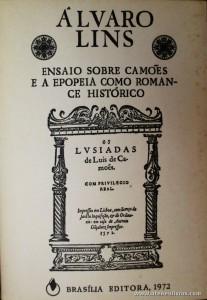 Ensaio Sobre Camões e a Epopeia Como Romance Histórico