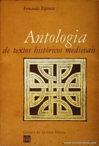 Antologia de Textos Históricos Mediavais