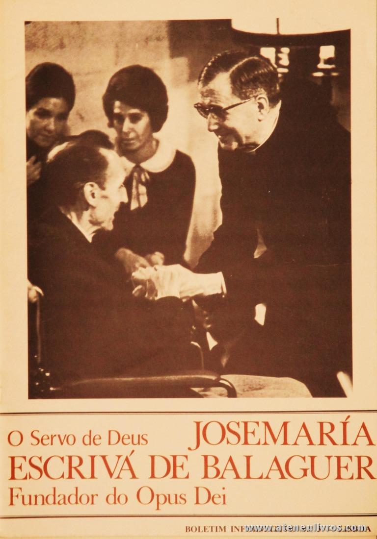 Boletim n.º 5 - Fundação do Opus Dei - 1983 - «€5.00»