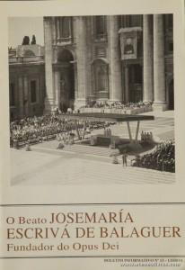 Boletim n.º 13 - Fundação do Opus Dei - 1994 - «€5.00»