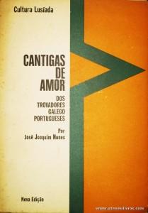 Cantigas de Amor dos Travadores Galego Portuguses
