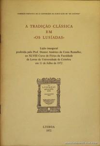 A  Tradição Clássica em«Os Lusíadas»