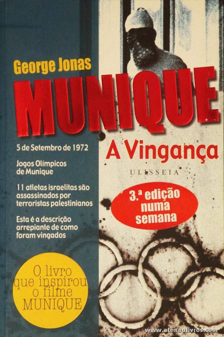 George Jonas - Munique «A Vingança» «€10.00»