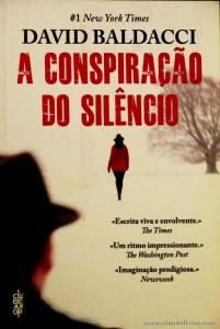 David Baldacci - A Conspiração do Silêncio «€8.00»