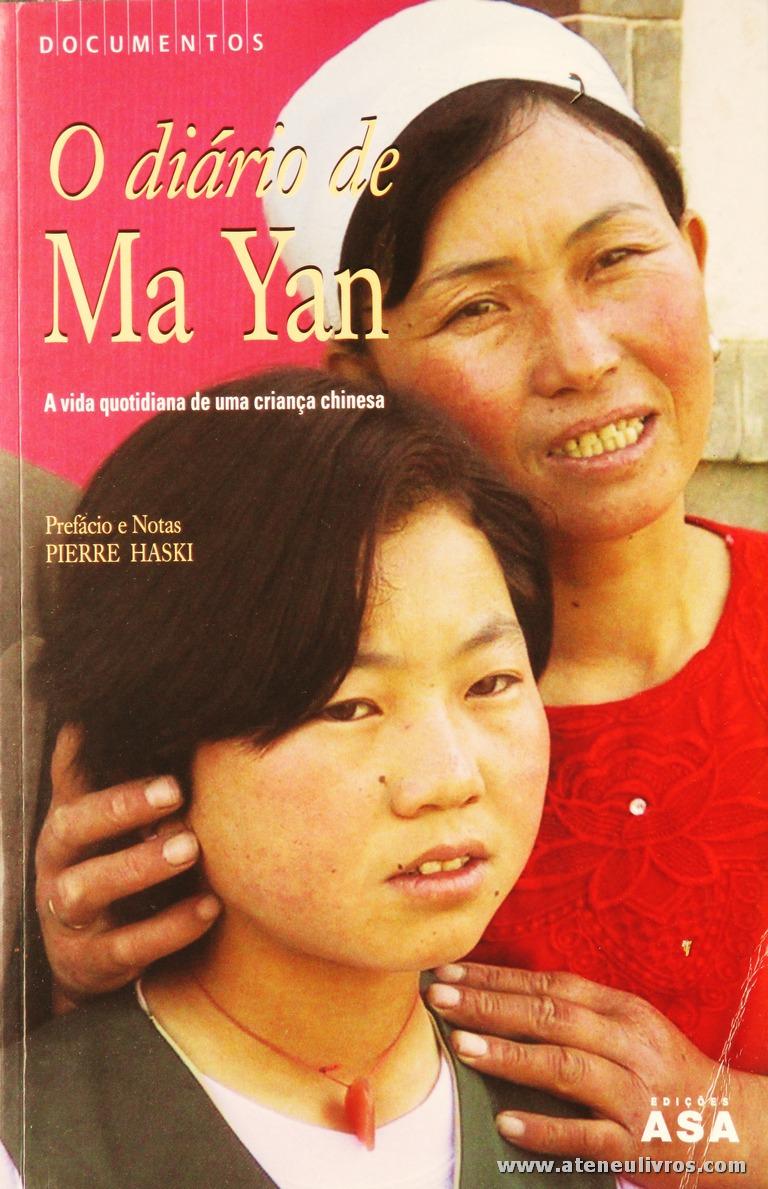 O Diário de Ma Yan « A Vida Quotidiana de Uma Criança Chinesa «€5.00»