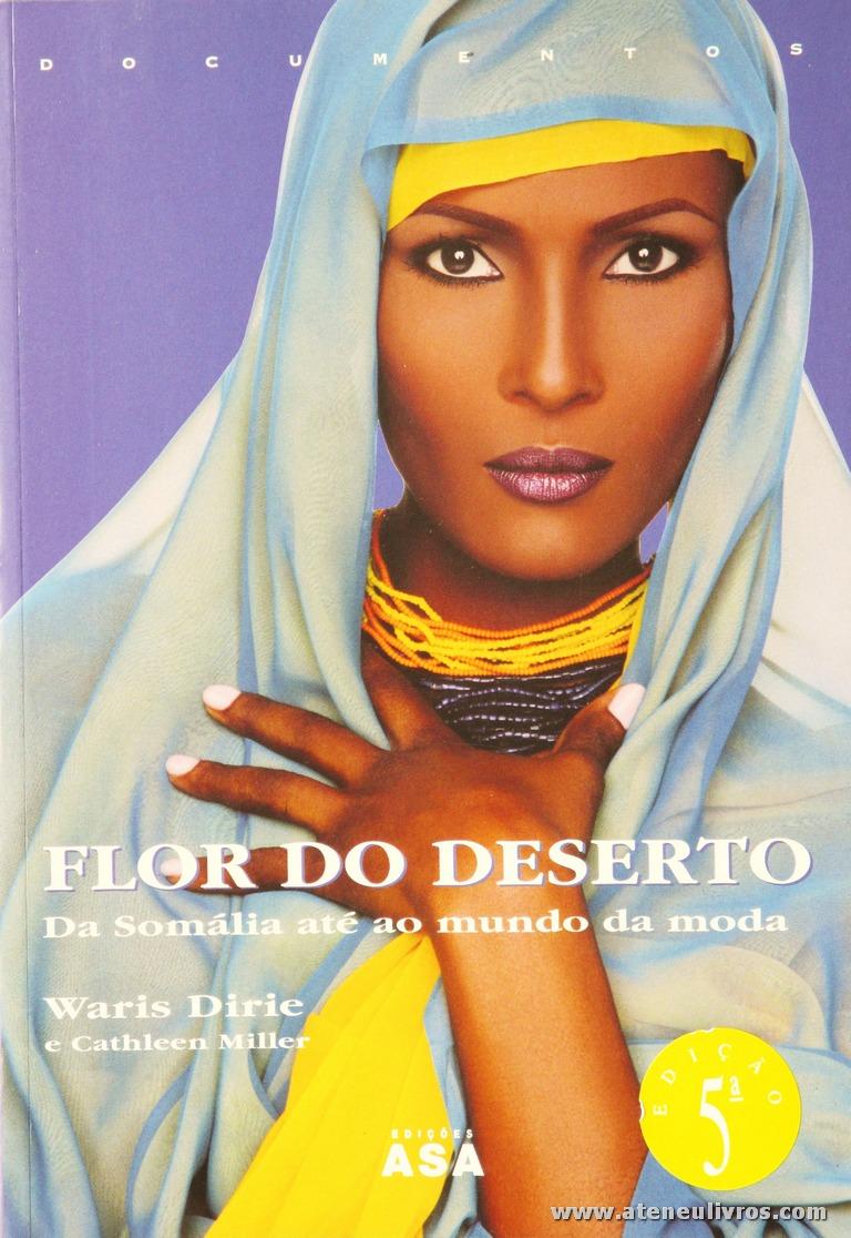 Waris Dirie Cathleen Miller - Flor do Deserto «€5.00»