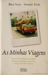 Maria Vieira e Fernando Rocha - As Minhas Viagens «€5.00»