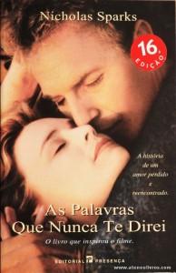 Nicholas Sparks - As Palavras Que Nunca te Direi «€8.00»