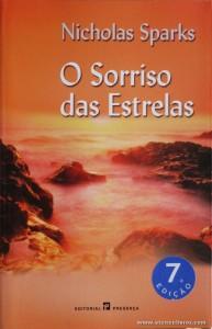 Nicholas Sparks - O Sorriso das Estrelas «€5.00»