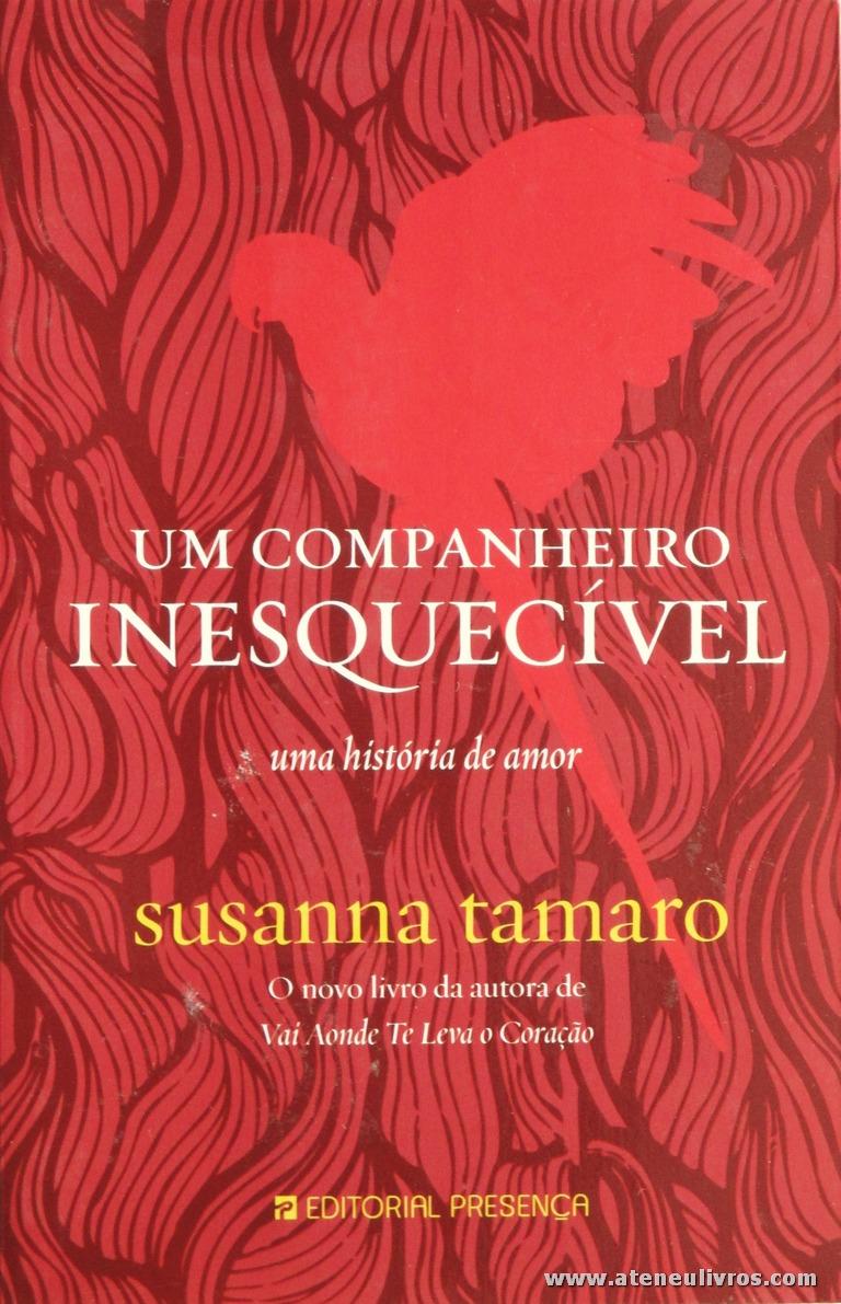 Susanna Tamaro - Um Companheiro Inesquecível Uma História de Amor «€5.00»