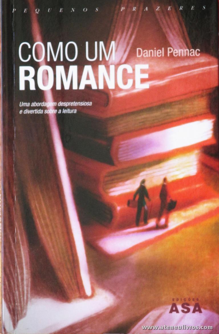 Daniel Pennac - Como Um Romance «€5.00»