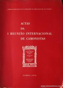 Actas da I Reunião Internacional de Camonistas