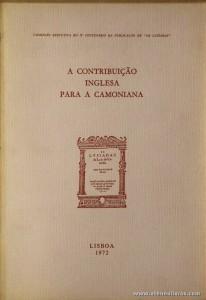 A Contribuição Inglesa Para a Camoniana