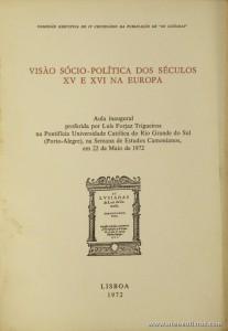 Visão Sócio-Política dos Séculos XV e XVI na Europa