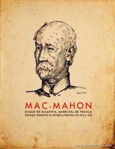 Mac-Mahon Duque de Magenta, Marechal de França Segundo Presidente da Republica Francesa de 1873 a 1879 - 1643 - 1.ª Exposição Colonial Portuguesa - Porto - 1934 - «€5.00»