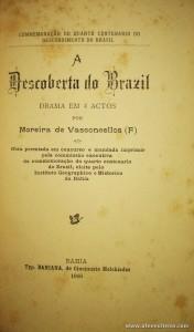 A Descoberta do Brazil - Drama em 4 Actos