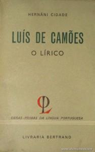 Luís de Camões o Lírico