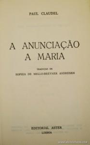 A Anunciação a Maria