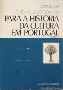 Para a História da Cultura em Portugal