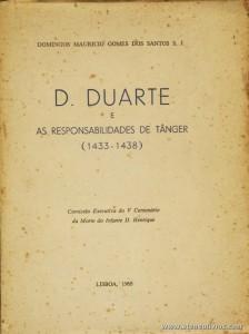D. Duarte e as Responsabilidades de Tânger (1433-1438)