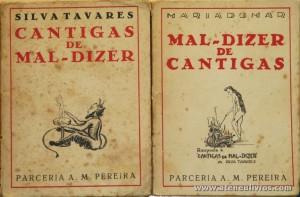 Cantigas de Mal-Dizer / Mal-Dizer das Cantigas