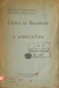 Colónia de Moçambique a Agricultura