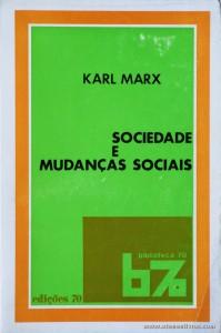 Sociedade e Mudanças Sociais