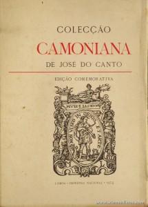 Colecção Camoniana de José do Canto