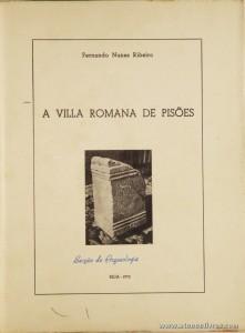 A Villa Romana de Pisões