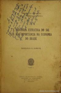 A Industria Extrativa do Sal e a sua Importância na Economia do Brasil